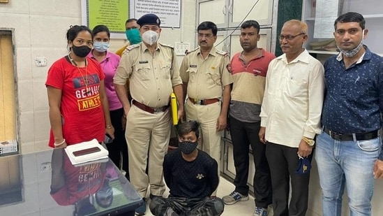 The girl was trafficked to Mumbai from Palashipara in West Bengal. (ANI Photo)