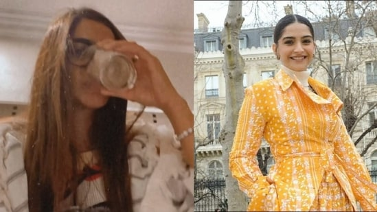 Sonam Kapoor shares a post about her periods amid pregnancy rumours.