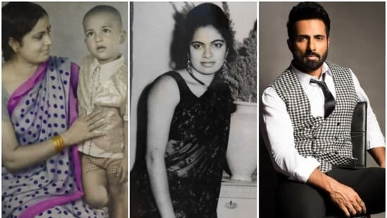 Sonu Sood often posts pictures remembering his parents.