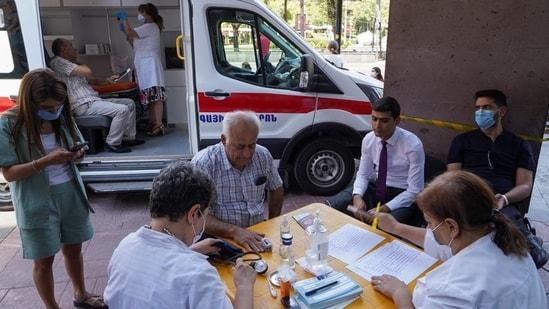 Armenia becomes vaccine tourism hotspot as Iranians rush to get Covid-19 vaccine(Reuters)