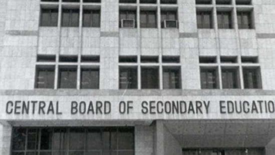The CBSE office building in New Delhi(HT File Photo)