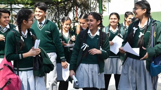 CBSE Board 10th Results 2021: Class 10 result today, here's how to check(Hindustan Time Photo)
