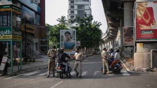 Kerala to impose complete lockdown on July 24 and July 25 as part of efforts to contain Covid-19.(AP)