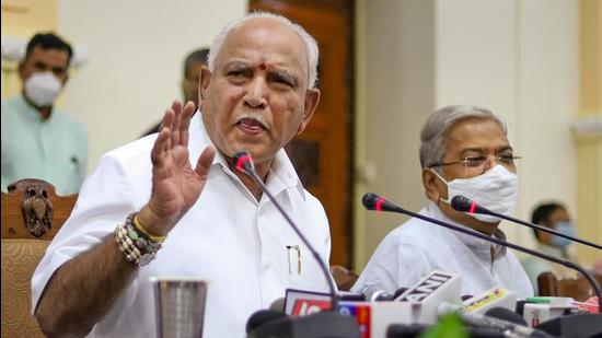 Karnataka chief minister B S Yediyurappa had denied any plan to step down at the conclusion of his meetings with the Central high command during his New Delhi visit last weekend. (PTI)