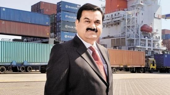 File photo of Adani Group chairman Gautam Adani at Mundra Port in Gujarat.(HT photo)