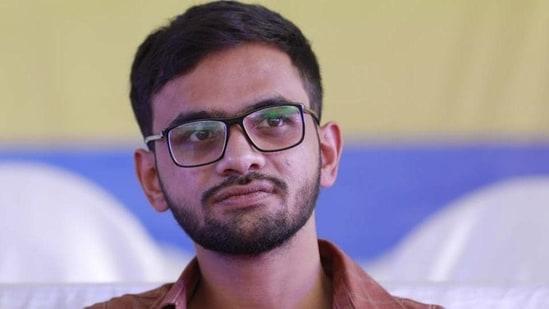 File photo of Umar Khalid(Pic: Hindustan Times)