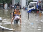 Henan, which is China's most populous province, has been the worst-hit due to the flood triggered by torrential rains. (Photo via Reuters)
