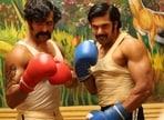 Pa Ranjith's Sarpatta Parambarai stars Arya (right) in the lead role.
