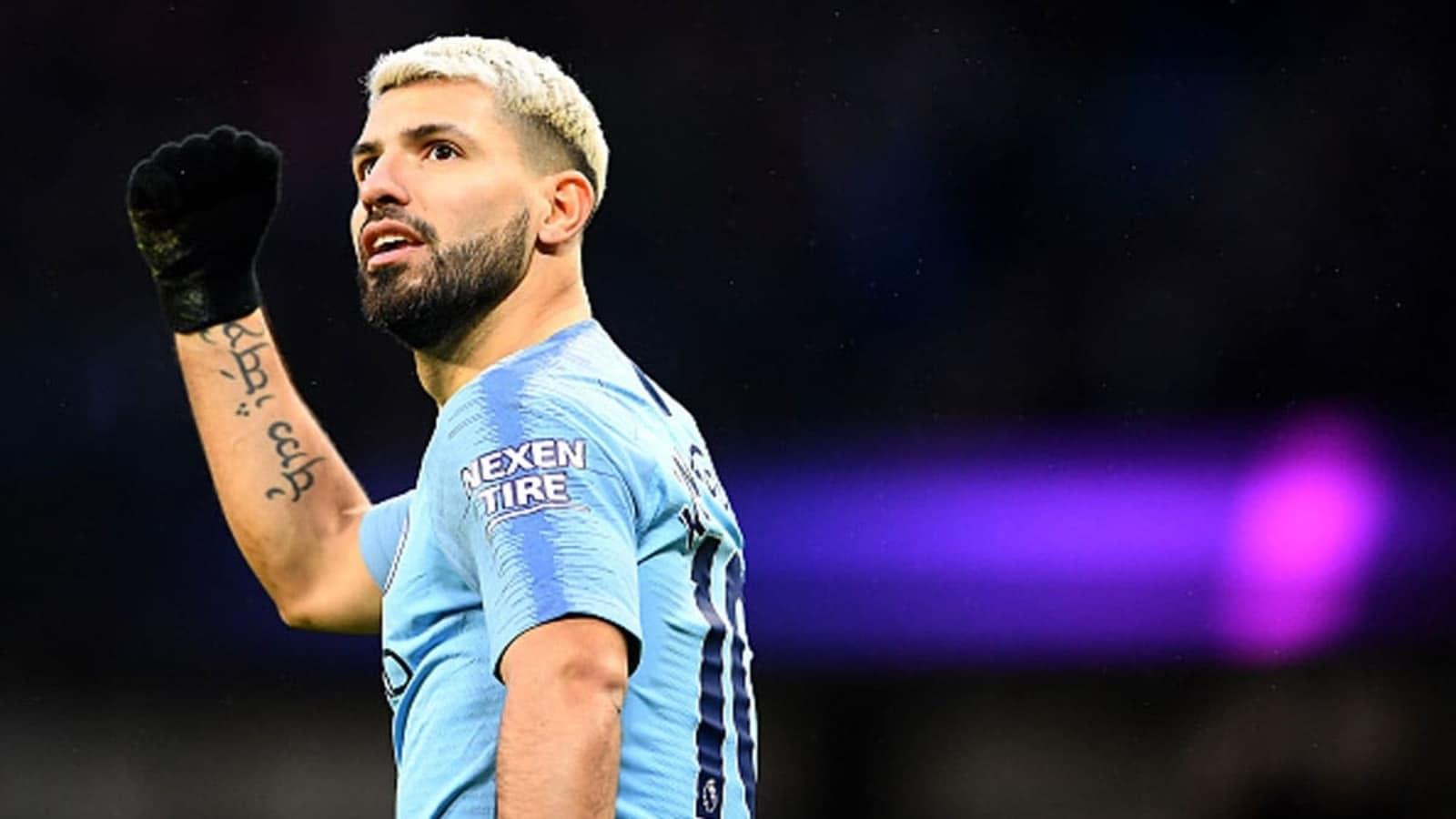 Premier League Champions Manchester City Pay Tribute To Sergio Aguero Through Their New Home Kit For 2021 22 Season Football News Hindustan Times