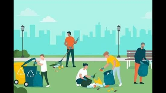 Seeing us clean the ground, football players halted their game, athletes stopped in their tracks and girls practising gymnastics paused to ponder. Soon, they all came rushing towards us to join the cleanliness campaign. (Representative image)
