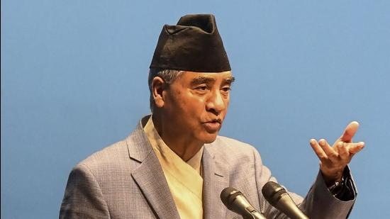 Nepal's newly appointed Prime Minister Sher Bahadur Deuba. (AFP)