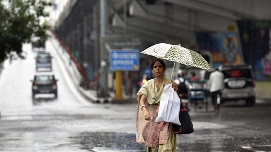 So far, Noida has recorded very light to light rainfall since July 13, when IMD announced the arrival of monsoon in the National Capital Region.(Sunil Ghosh / HT file photo)