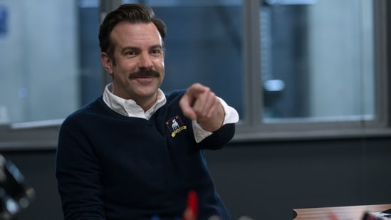 Ted Lasso Season 2 review: Jason Sudeikis in a still from the Apple TV+ show.