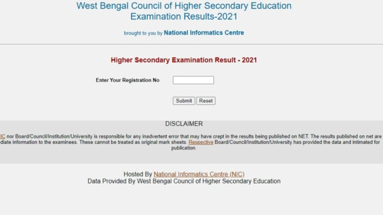 WBCHSE HS Results 2021 declared(wbresults.nic.in)