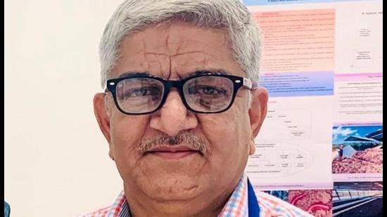 New Punjab Pollution Control Board chairman Adarsh Pal Vig (HT Photo)