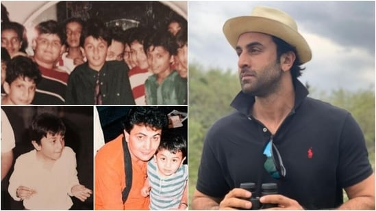 Ranbir Kapoor: Ranbir Kapoor's childhood pictures are just too cute to handle. This Bollywood heartthrob is now winning hears of many with his charming looks.(Instagram/@aliaabhatt)