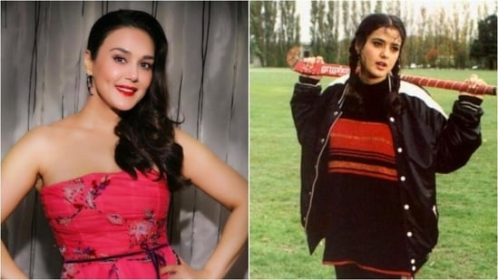Preity Zinta: The actor was seen in a lot of films playing the role of a bubbly girl. She can still cast a spell on anyone with her adorable looks(Instagram/@preityzinta)