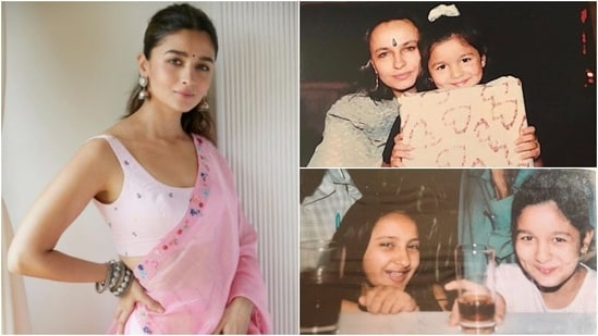 Alia Bhatt: Mahesh Bhatt and Soni Razdan's daughter has gained fame for her incredible acting skills. Her childhood pictures are irresistibly cute. (Instagram/@aliaabhatt)