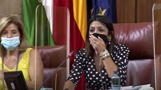 Panic spread during the session as a rat entered Andalusian Parliament in Spain on Wednesday.