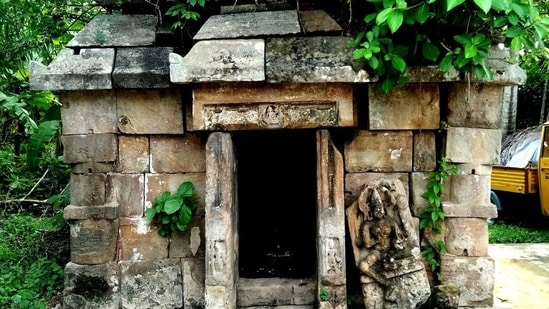 The ancient monument discovered is in a very precarious state and on the verge of collapse.