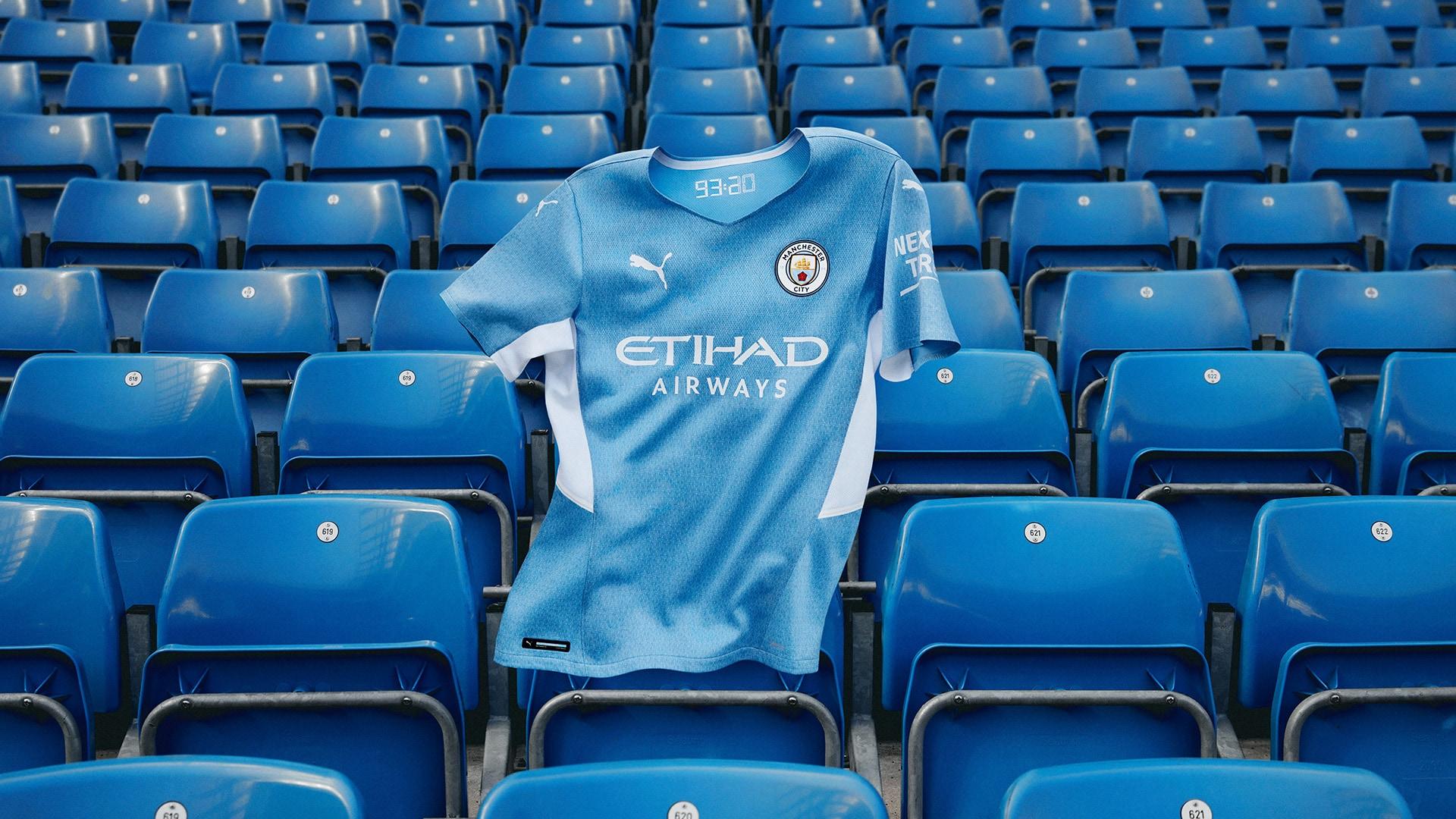 New Man City kit that pays tribute to Sergio Aguero.