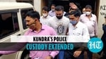 Raj Kundra taken to lock-up after police custody extended till July 27 in porn case