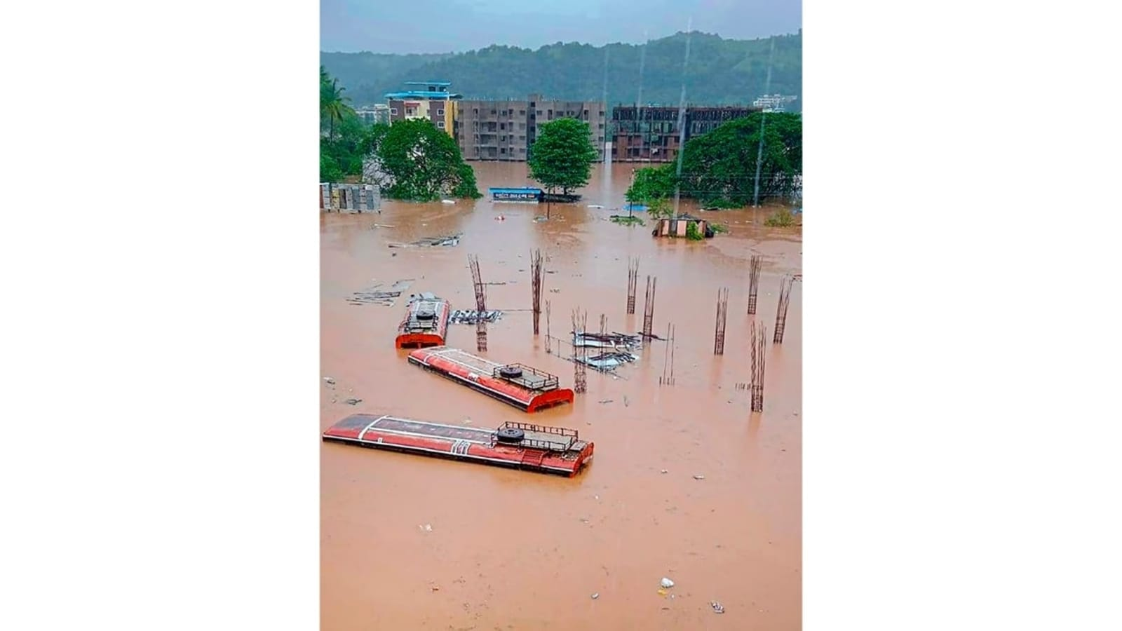 Over 60 killed as west India hit by heavy rain   Latest News India