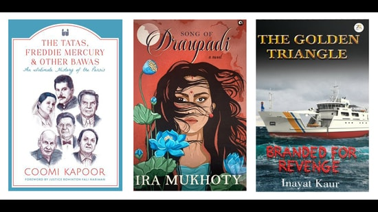 This week's reading list includes a book on Parsis, another on one of the most fascinating women in Indian mythology, and a murder mystery out at sea. (HT Team)