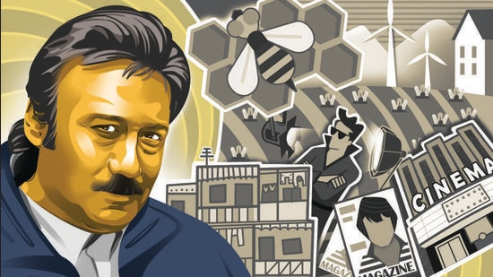 Jackie Shroff is not only a star but a legend, in addition to being father to one of the hottest young stars of Bollywood. (Illustration: Gajanan Nirphale)