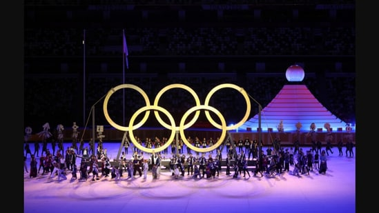 Tokyo Olympics 2020: The image was shared on Twitter.(Twitter/@Olympics)