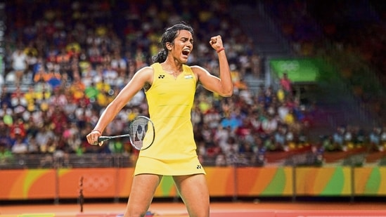 PV Sindhu will carry India's hopes for a medal in Badminton in the Tokyo Olympics(MINT_PRINT)