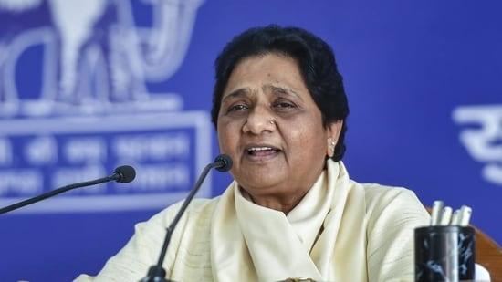 Bahujan Samaj Party (BSP) chief Mayawati(File Photo / HT)