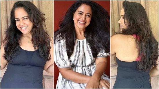 Fitness Friday: Sameera Reddy says she lost 9kg in new weight loss update post(Instagram/@reddysameera)