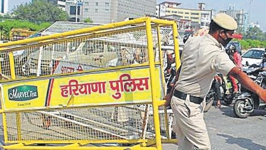 Haryana extends lockdown till August 2. (HT File Photo)