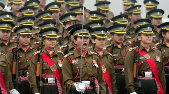 In the 1.4-million-strong Indian Army, women constitute a minuscule 0.56%, while the corresponding figure is 1.08% in the Air Force and 6.5% in the Navy. (PTI)