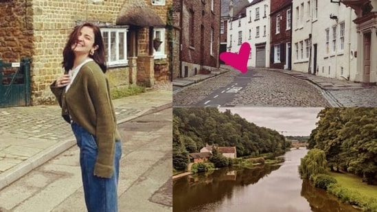 Anushka Sharma has shared pictures from her stay in Durham.