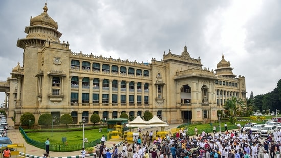 """Karnataka: """"Places of worship (Temples, Mosques, Churches, Gurudwaras, and other religious places) are allowed to open and related activities pertaining to the places of worship are permitted from 25-07-2021 strictly adhering to COVID 19 appropriate behaviour. (PTI)"""