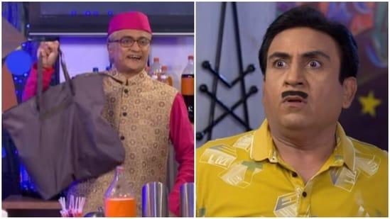 Champaklal finds the bag containing kadha in latest episode of Taarak Mehta Ka Ooltah Chashmah.