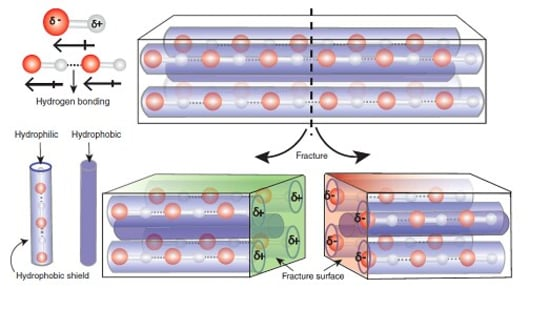 Scientists have developed piezoelectric molecular crystals that generate electricity under mechanical impact.(DST)
