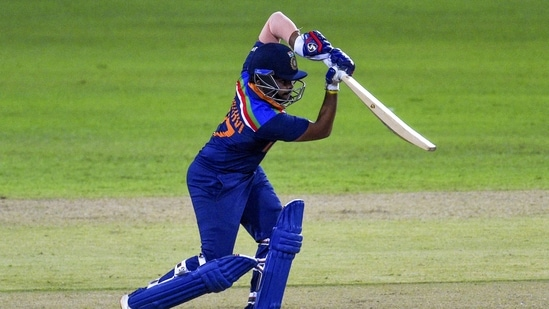 India's Prithvi Shaw plays a shot during the first ODI match against Sri Lanka, at R.Premadasa Stadium in Colombo on Sunday.((ANI Photo))