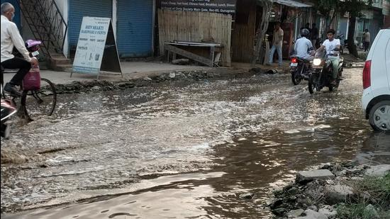 Residents of Carnation Residency blamed civic apathy despite problems persisting for over two years. (Sourced)