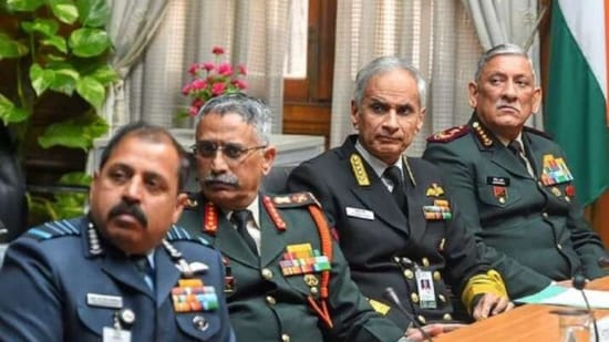General Rawat held a five-hour meeting in the presence of three service chiefs, vice chiefs and integrated defence staff officers above the rank of major general and equivalent. (File Photo)