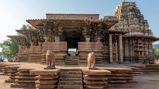 Kakatiya Rudreshwara (Ramappa) Temple which was inscribed as a World Heritage site on Sunday (twitter.com/narendramodi)