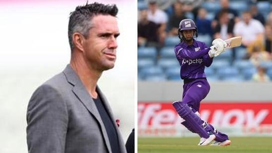 Kevin Pietersen praises Jemimah Rodrigues. (Getty)