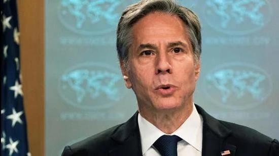 The situation in Afghanistan is expected to be one of the main topics on the agenda for Blinken's discussions with his Indian interlocutors. (REUTERS)