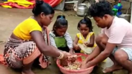 Isaac Munda started his journey as a YouTuber in March 2020 when he posted a clipping about a traditional Odia dish, Pakhala. (Image credit: @narendramodi)