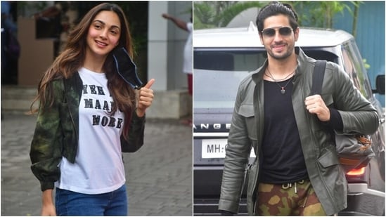 Kiara Advani nails airport fashion with Sidharth Malhotra in chic outfit and <span class='webrupee'>₹</span>1 lakh boots(Varinder Chawla)