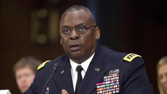 US defence secretary Lloyd Austin.(AP file)