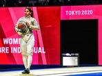 Indian fencer Bhavani Devi(CA Bhavani Devi / Twitter)