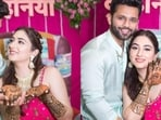 Disha Parmar and Rahul Vaidya had been friends before he proposed to her.